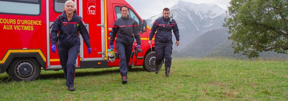 Recherche sapeurs-pompiers volontaires groupement sud