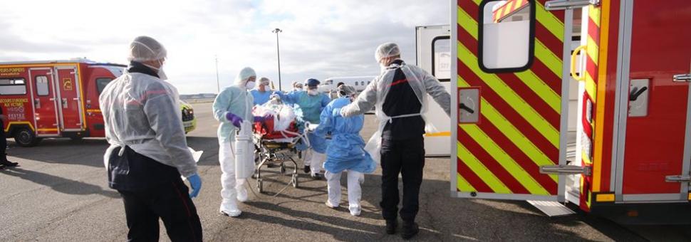 CoViD-19 : les premiers transferts de malades en Haute-Garonne