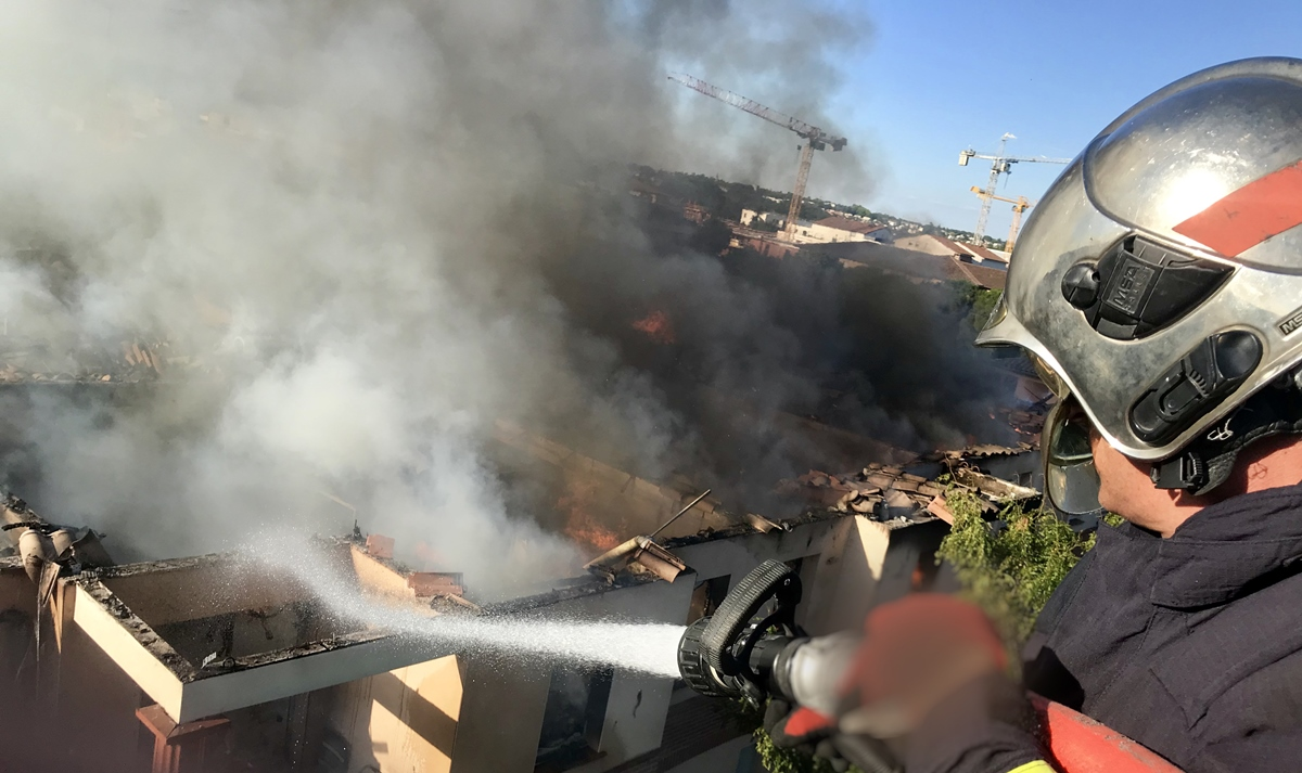 Incendie Toulouse
